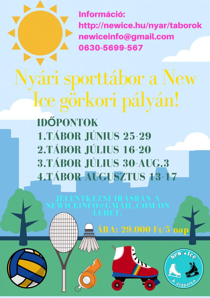 Nyári tábor a New ice sportpályán! (4)